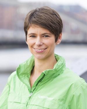 Sandra Hieke © Greenpeace