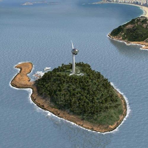 Berimbau Eco-Tower von Luis de Garrido für Olympia 2016.