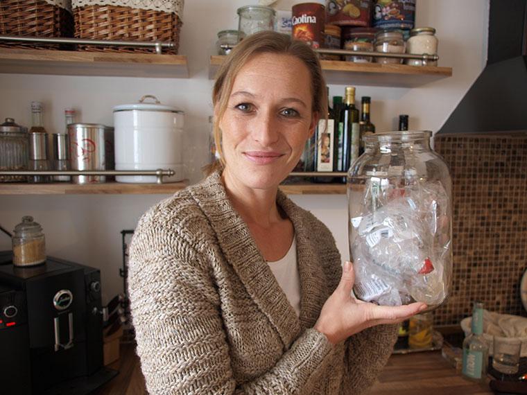 Nadine Schubert sagt Plastik den Kampf an