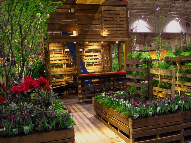 Alles Paletti, oder die ganz besondere, nachhaltige Gartengestaltung