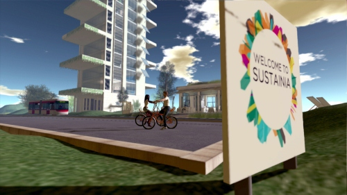 Sustainia: Virtuelle Welt der Nachhaltigkeit wie Second Life zu Rio+20