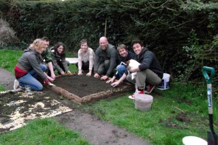 Gärtnern in der Gemeinschaft