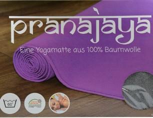 Yogamatten 100% Baumwolle
