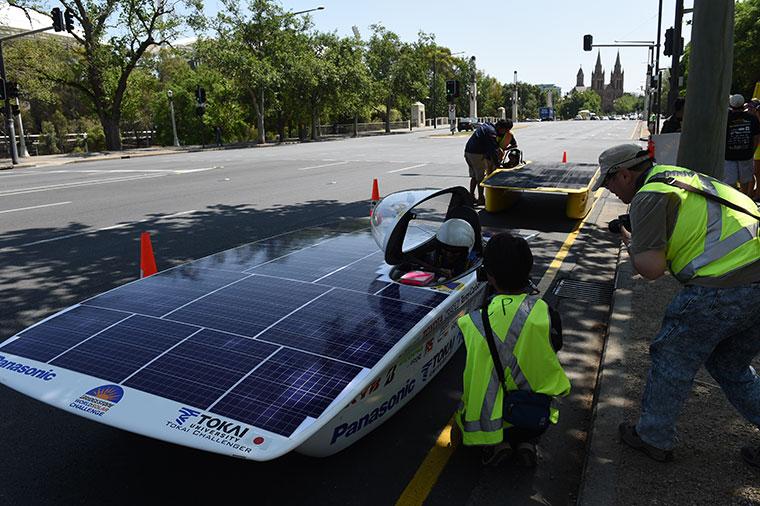 World Solar Challenge Australien