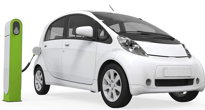 Elektroautos sind umweltfreundlich