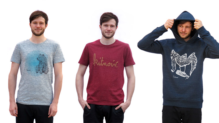 Kitnoir Kollektion Herren, T-Shirt, Hoodie
