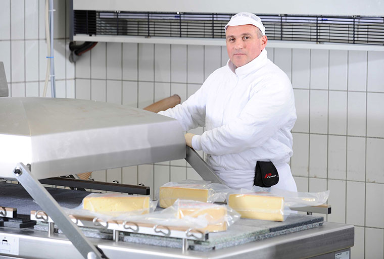 ÖMA handarbeit, Käse Verpackung