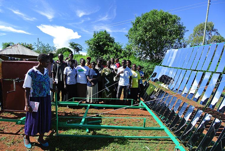 Solarstrom auch für Entwicklungsländer
