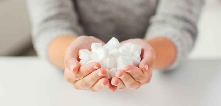 Tagesbedarf an Zucker maximal 10 Prozent