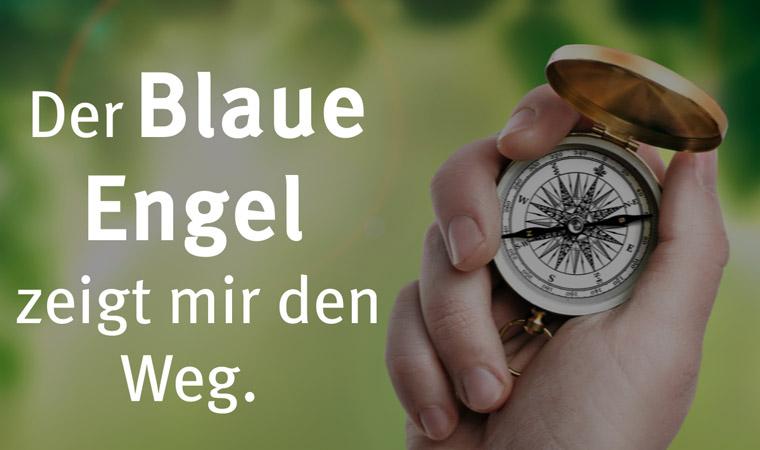 Blauer Engel als Kompass