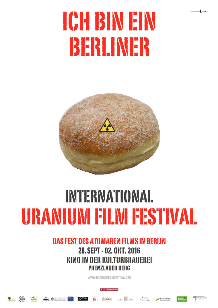Uranium Film Festival, Poster zum Festival