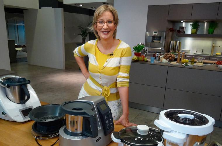 Kochende Küchenmaschinen im Test