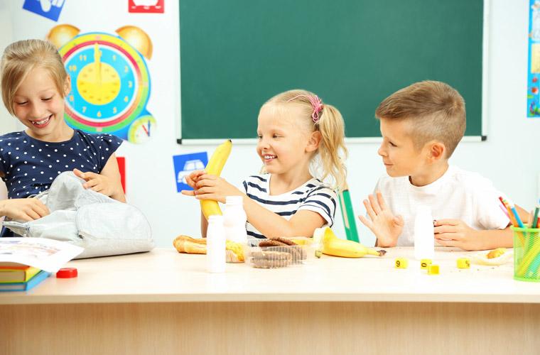 Frühstück wichtige Mahlzeit für Kinder