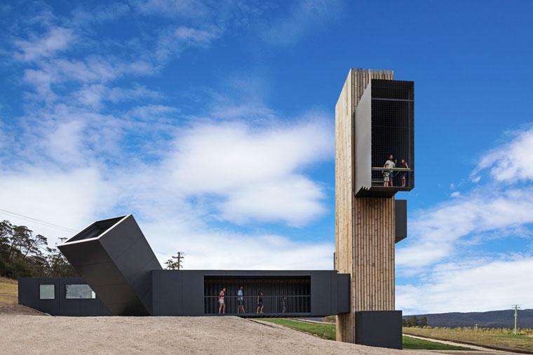Weinprobe in außergewöhnlicher Architektur