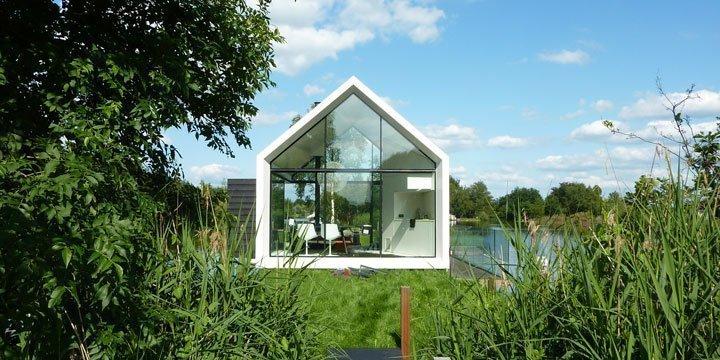 Haus aus Glas - Perfekter Rückzugsort mitten im Wald