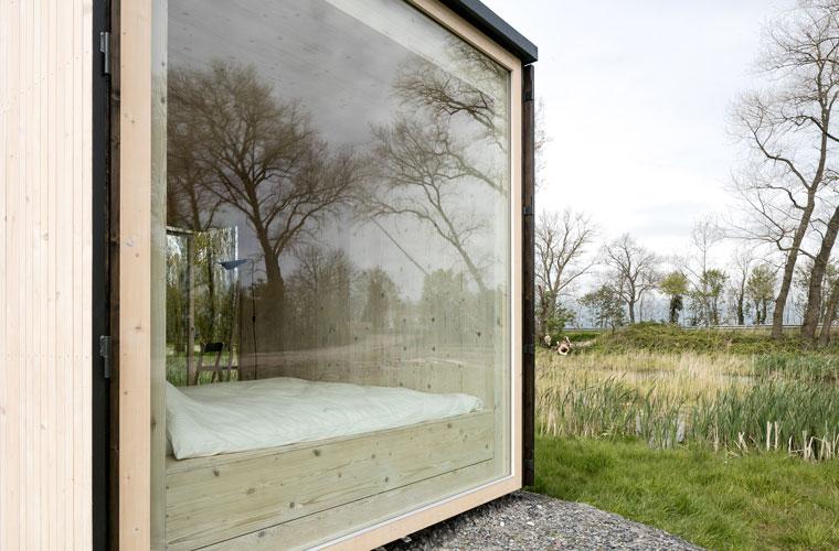Ecocamping, mobile Hütte, Nachhaltigkeit und Luxus