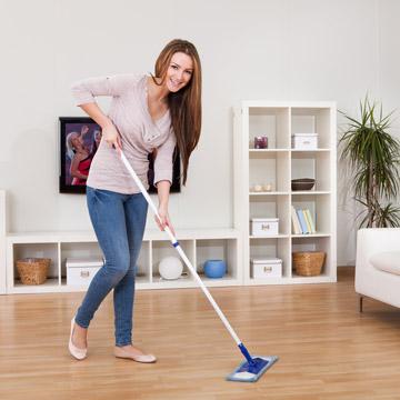 Natürliches Bodenpflegemittel für Parkett Fliesen und Marmor