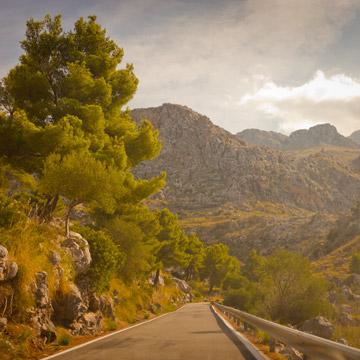 Mallorca trocknet aus