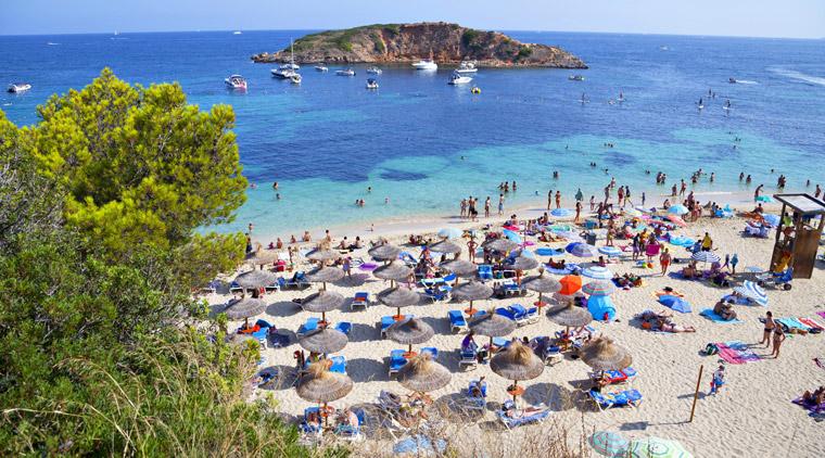 Massentouris auf Mallorca
