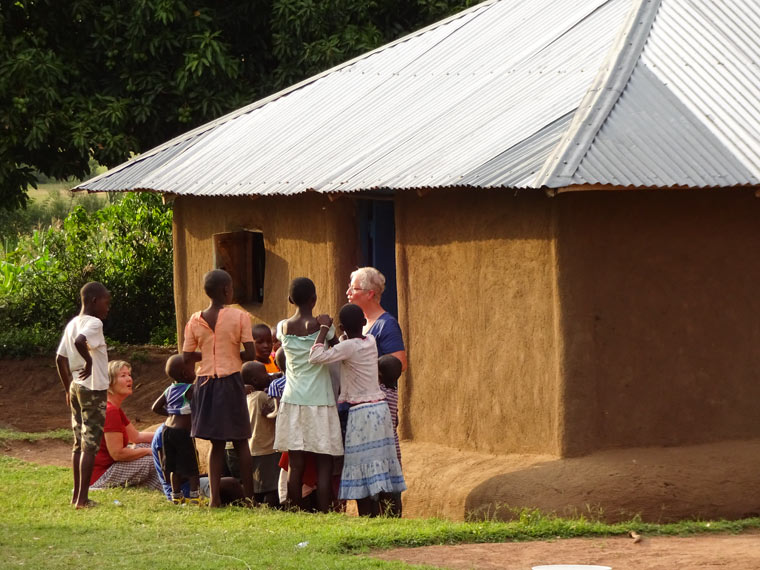 Lehmhome in Kenia