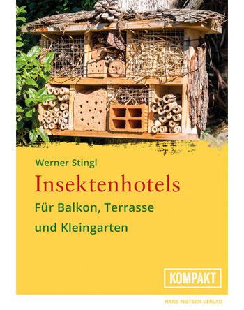 Insektenhotels für Balkon, Terrasse und Kleingarten