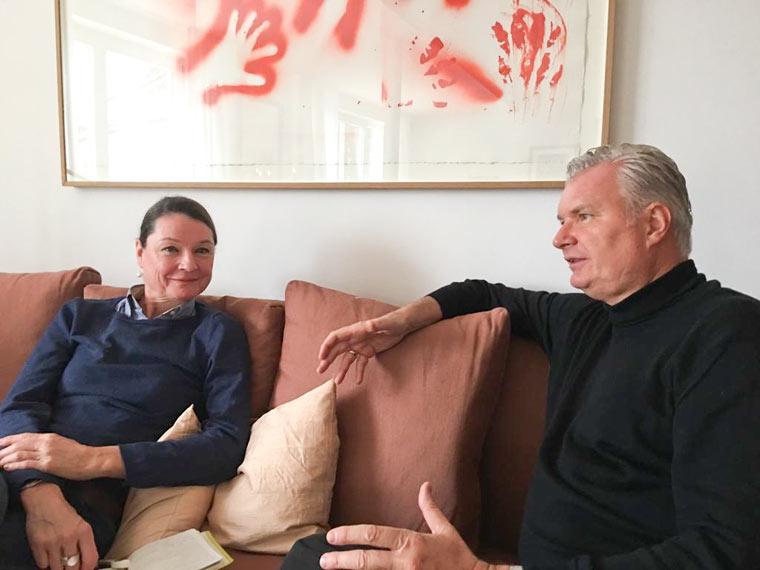 Interview Ulrike Stöckle mit Herrn de Morelos