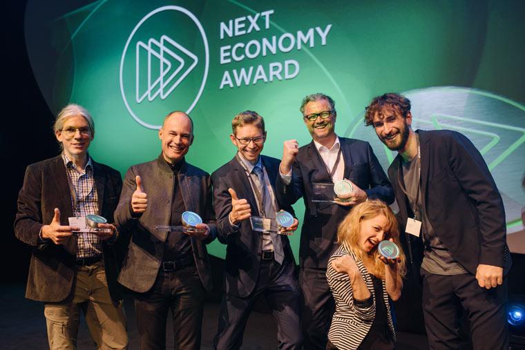 Das sind die Gewinner des 3. Next Economy Awards!