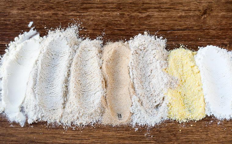 Die bunte Welt der glutenfreien Mehle