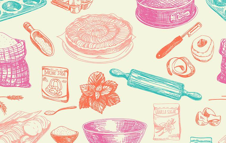 Zutatenliste für glutenfreie Rezepte bei Zölialkie