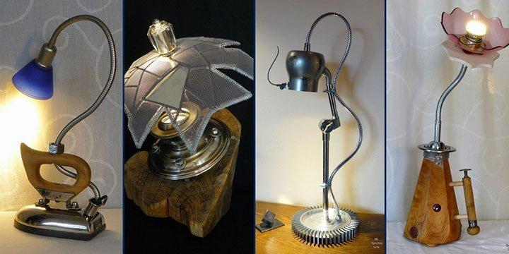 Voll im Trend: Coole Leuchten im Upcycling-Stil!