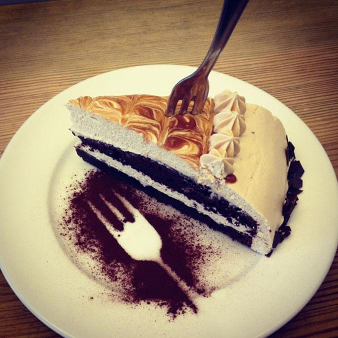 Vegane Kuchen und Torten im Cafe in Berlin Kreuzberg