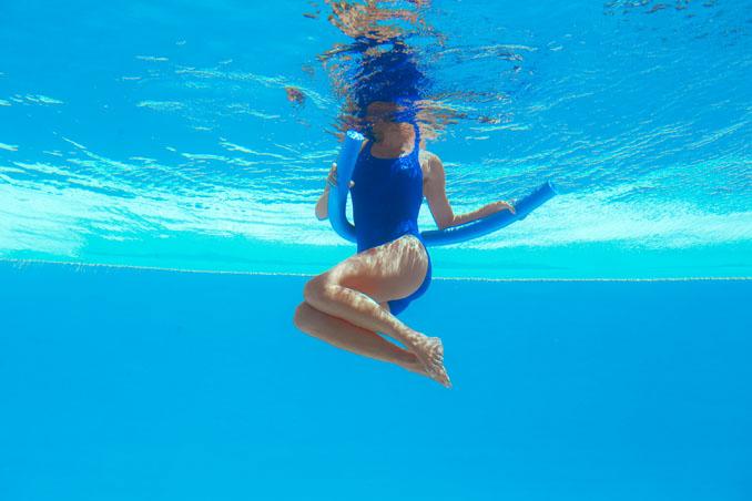 Wassergymnastik zum Abnehmen