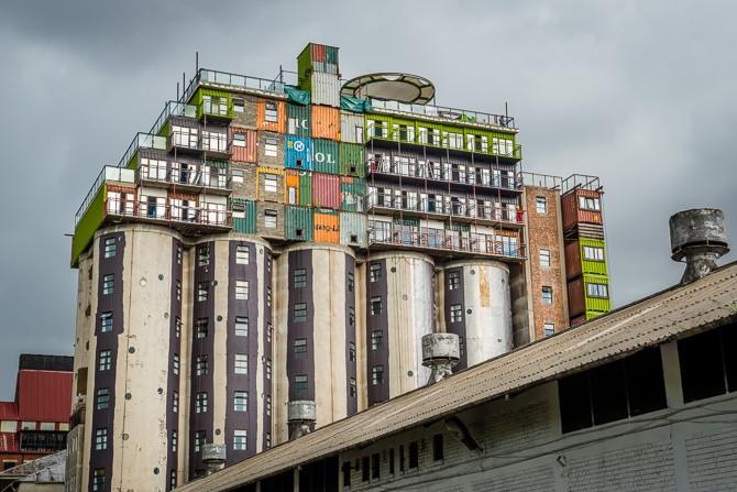 Wohnen In Containern wohncontainer silo wohnung studentenwohnheim mill junction