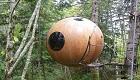 Übernachtung im Holz-Baumhaus: Kugelhaus Free Spirit Sphere in Kanada