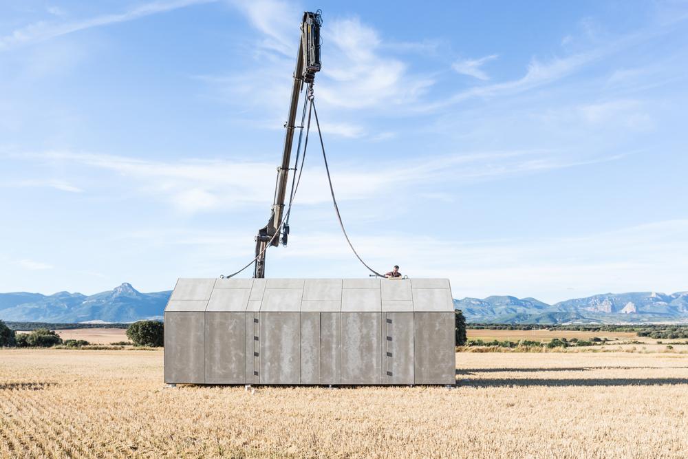 Eco architektur fertighaus aus holz rundum nachhaltig - Maison portable ...