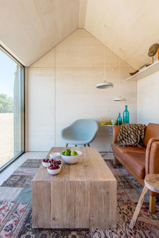Eco Architektur vom feinsten, Fertighaus aus Holz