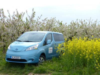 Ecowoman Testmobil: Der Nissan ENV