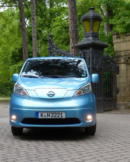 Nissan e-NV 200 Testmobil für Ecowoman