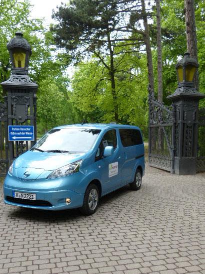Nissan e-NV 200 Ecowoman Testmobil