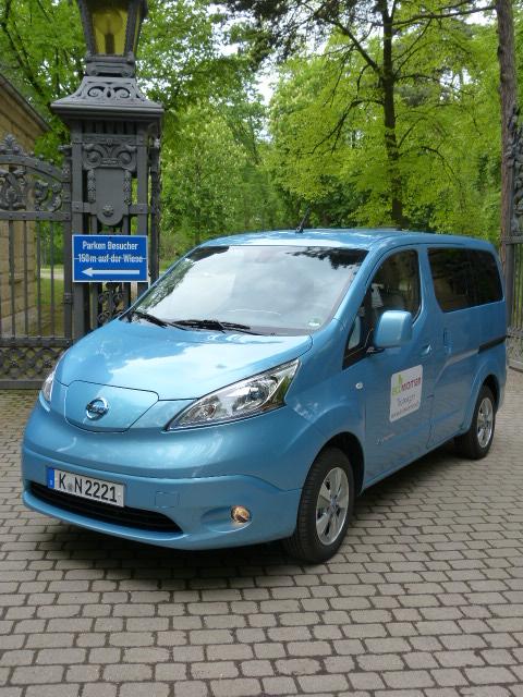 Nissan e-Nv 200 Testmobil von Ecowoman