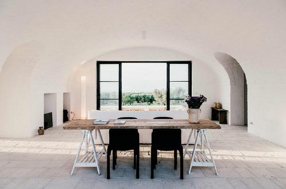 Die perfekte Kombination aus Minimalismus und Luxus finden Sie in Apulien