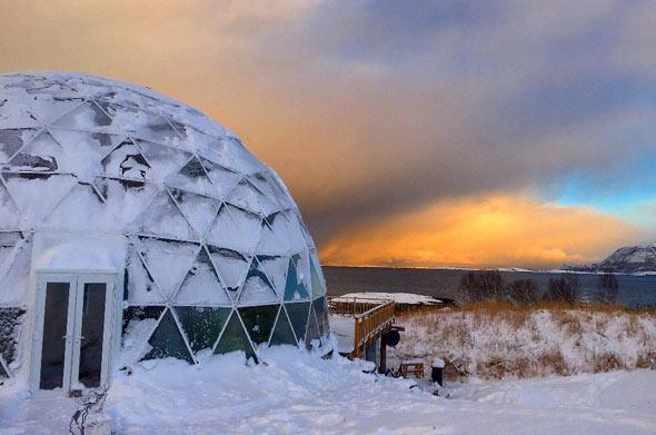 Der arktische Zirkel ist für sein raues und häufig sehr kaltes Wetter bekannt