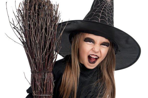 Besonders für Kinder ist Halloween ein großer Spaß...