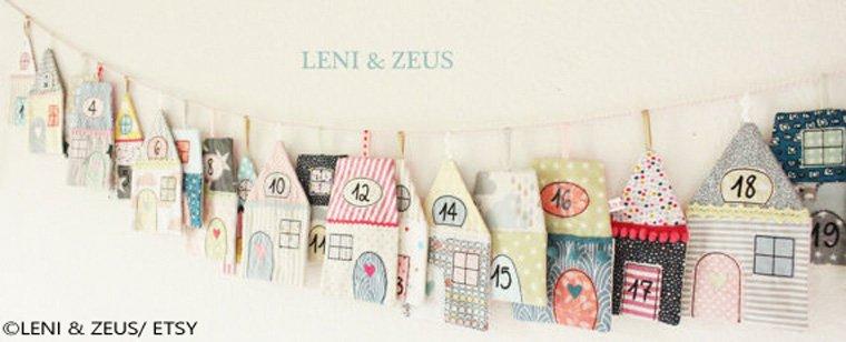 Sehr kreativ: 24 verschiedene Häuser aus Stoff
