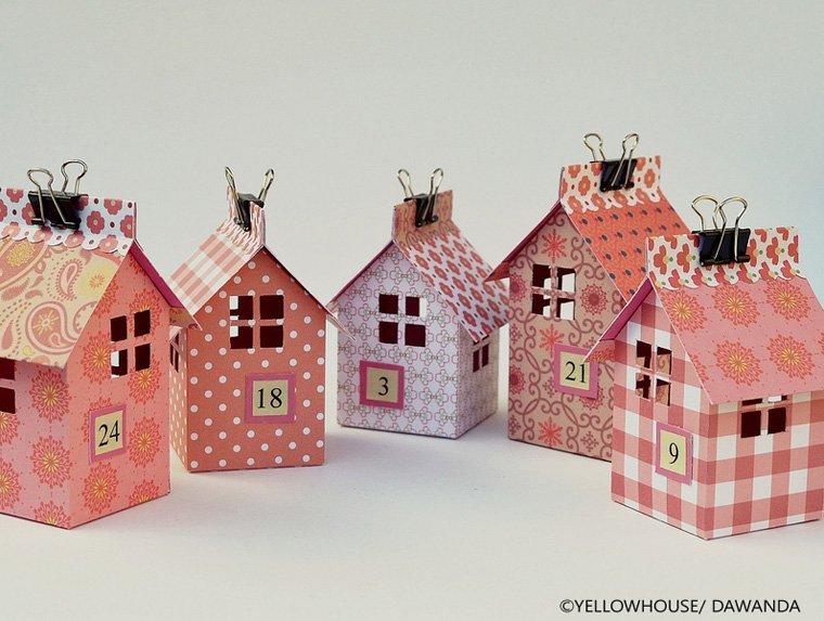 Diese schönen Häuschen bieten viel Platz für Adventsnaschereien