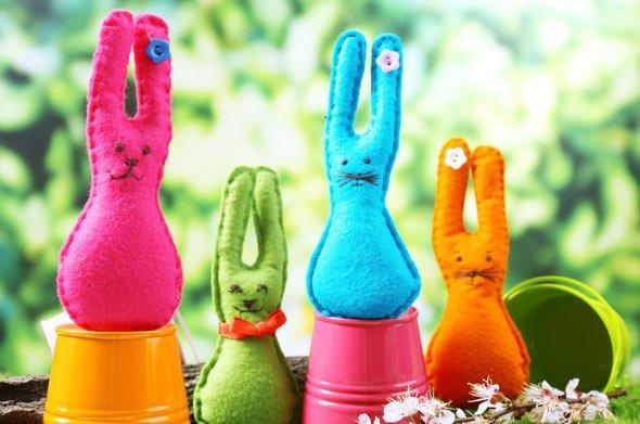 Ostern und Häschen gehören einfach zusammen - eine schöne Bastelidee für Zuhause