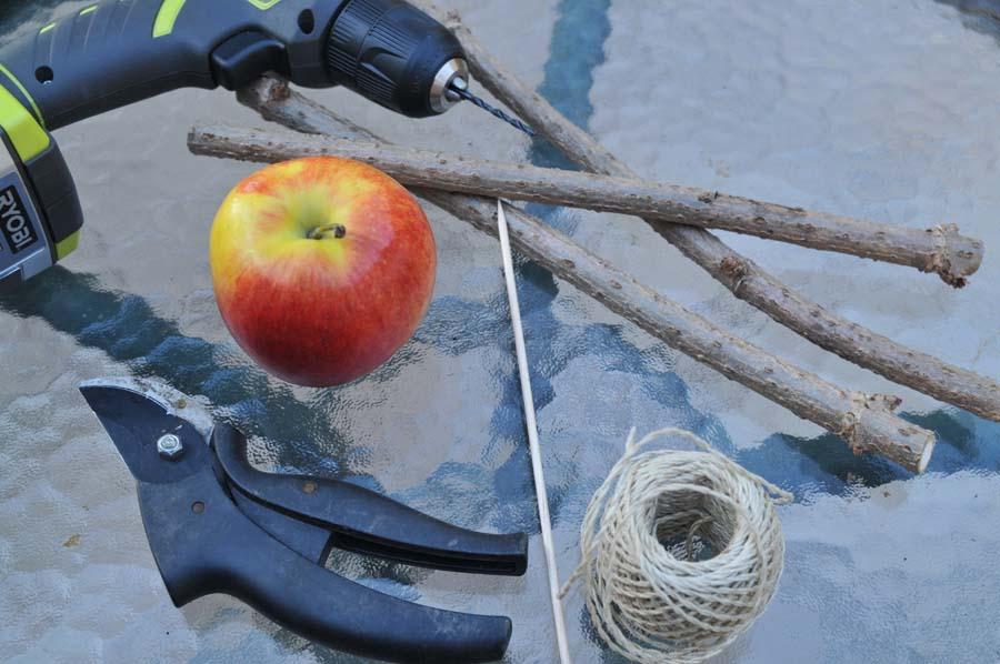 Vogelfutter Selber Machen Und Apfelhalter Für Vögel Basteln
