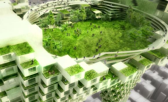 Die urbane Zukunft in spektakulären Entwürfen