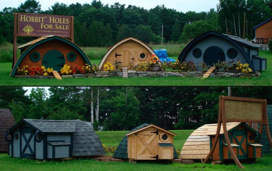 Hobbit Hole Von Wooden Wonders Vom Hühnerstall Bis Zum Wochenendhaus