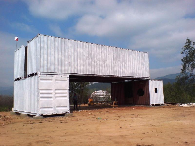 Infinski architekten und nachhaltig bauen mit containern for Fertig container haus